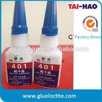 Black rubber toughened super fast instant dry glue