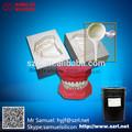 rtv silicone líquido momentive com agente de cura livre