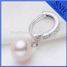 2015 new style sterling silver hoop earrings