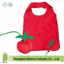 Hot Sale Apple Shape Folding Shopping bags for gift bag/ promotion bag