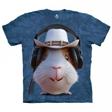 Mens cotton crew neck 3d printing t shirt in high quality