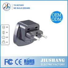 JIUSHANG Hottest eu to uk/france to uk plug adapter