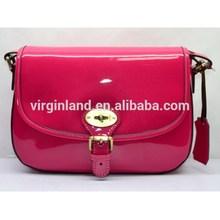 2015 China Manufacturer Famous Design Women Best Price Patent Leather Handbags Wholesale
