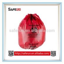 PE plastic material medical waste Biohazard Bags healthcare waste disposal