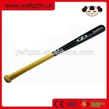 China Good Quality Wood rubber painting Baseball Bat