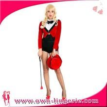 Trajes de circo y trajes de lujo cabecilla traje