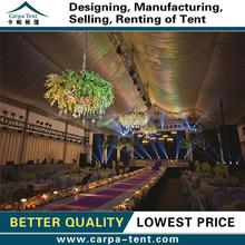500 kişilik yangın geciktirici beyaz düğün çadır tavan ve örtüler satılık