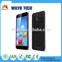 "WG7 5.0"" Fwvga MT6572 512MB 4GB 2Mp Smartphone Chinese Dual Sim Smartphone Unlock"