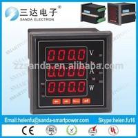 Digital Panel Meter Current Voltage Watt Meter Gague for Amperer Volt Watt