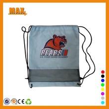Max+ Wholesale 190T Polyester Net Bag Drawstring Mesh Bag