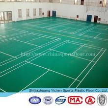 vinil floor commercial basketball /table tennis /badminton court