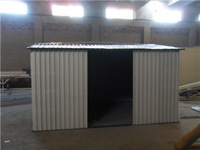 Metal /steel garden/car shed house made in China