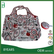 shanghai logo printing foldable china price polyester shopping bags