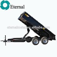 High performance dump truck hydraulic hoist