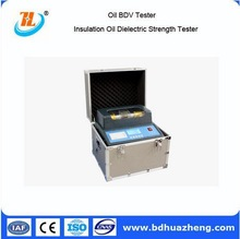 Hot sale 0-80Kv Oil Analysis testing equipment Single oil cup portable transformeroil dielectric strength test