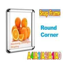 Snap frame, poster frame