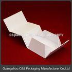 Fashion Cheap Paper Folding Box Design, Ectangle Folding Paper Box Manufacturer