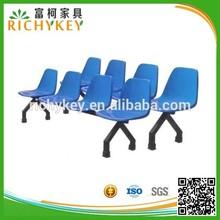 Hot Sales 4-Seater Fiberglass Garden Waiting Chair, Oudoors Beam Seating