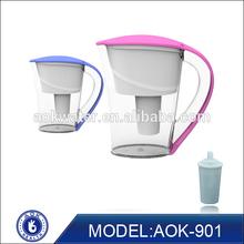 wholesale high alkaline low negative ORP bpa-free alkaline water pitcher
