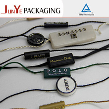 plastic seal string for jewelry gift tags