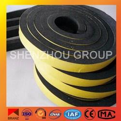 PVC/NBR rubberfoam tape self adhesive rubber foam tape