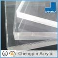 Chers acrylique/en plexiglas transparent feuille de verre en plastique