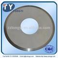 carboneto de tungstênio cortador de disco usado para cortador de lâmina