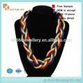 Lapislázuli de perlas a la moda,collar de joyería