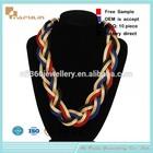 Fashion beaded lapis jewellery necklace