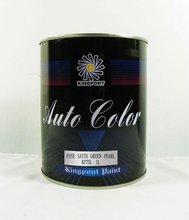 High Quality Automotive refinish paints-Fine Satin Green Pearl