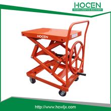 LC200-HC mechanical hand cranking hydraulic scissor lift table