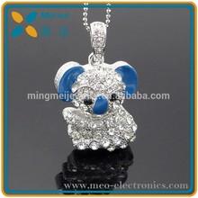Jewelry Cute Design USB Flash Drive, Littler Bear USB Flash Drive With High Speed