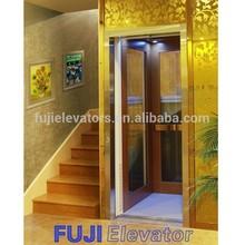 FUJI 200kg,320 kg,450kg home Elevator Glass,hydraulic residential elevator