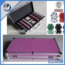 MLD-AB150 Portable Durable 11.5g/14g Chips Set Aluminum Poker Case
