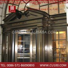 Best sale oem ancient copper doors windows
