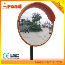 PC or PMMA lens material large security mirror
