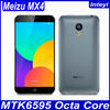 In Stock Meizu MX4 4G FDD LTE Android 4.4 MTK6595 Octa Core 2.2GHz 5.36'' 1920x1152 2G RAM 20.7M Camera 3100mAh Mobile Phone