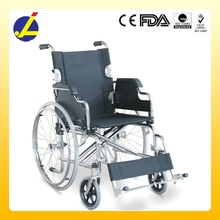 Manual Chromed Steel Frame Quickly Release Wheelchair JL908AQ