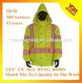 acolchado de colores de alta visibilidad chaqueta
