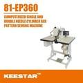 Keestar 81-ep360 de diseño por computadora de la máquina de coser con patrones 360
