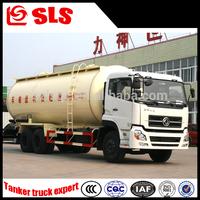 Dongfeng 3 axles diesel air compressor bulk cement silo truck with cummins engine