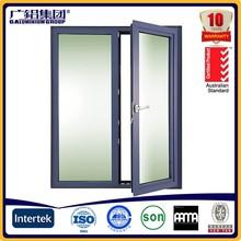 Personalizado de alta qualidade exterior de alumínio molduras de portas