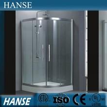 HS-SR821 sliding door corner bathroom access acrylic shower enclosures