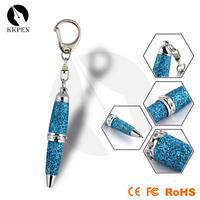 Shibell M101Mini Metal Twist Crystal Key Chain Pen for decoration plastic pen