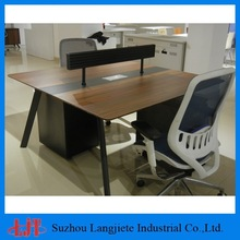 Wooden Office furniture/High Quality 2 People Office Desk
