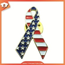 Country flags lapel pins with free design