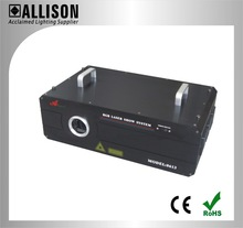 China high standard 2W Full Color Animation Laser Light with 35k scanner