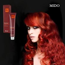 Korean style prefessional design mahogany hair dye color