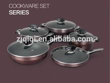Non-stick Aluminium Pan / Aluminum Pot Cookware Set with S/S handle