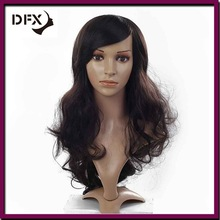 Permanent wigs high temperature synthetic hair big curly style wigs factory wholesale